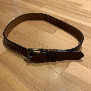 Levi's Brown Leather belt - 39/75